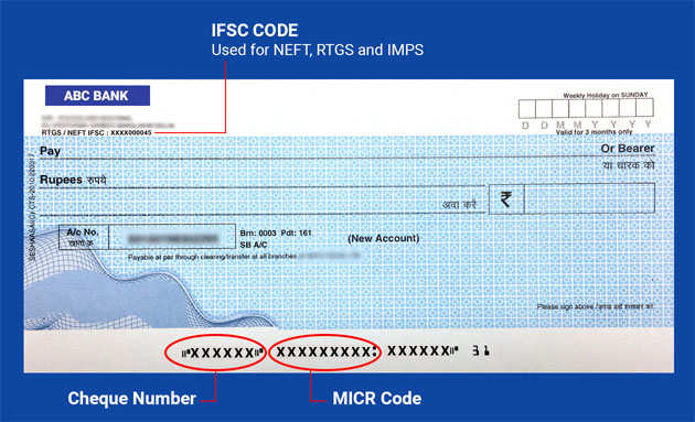 One Can Locate The Micr Code At Bottom Of A Cheque Leaf Next To Number It Is Also Normally Printed On First Page Bank Savings