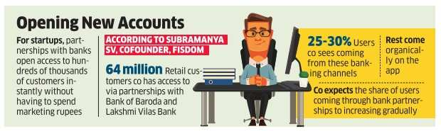 Banks now bank on fintech companies for more customers