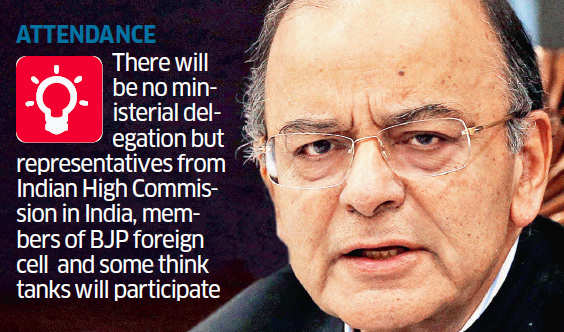 India pulls out of Shangri La dialogue, Defence Minister Arun Jaitley caught up with work