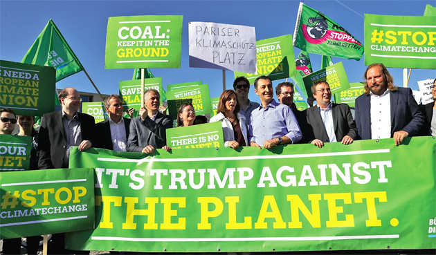 America's exit from Paris climate deal is a grave injustice to the developing world
