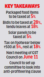 Gold costlier under GST; apparel, biscuits, footwear cheaper