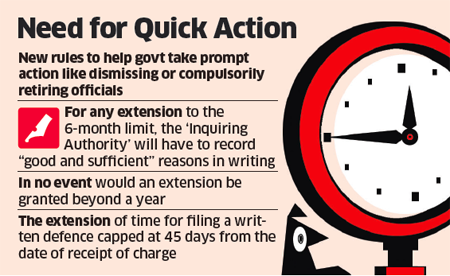 disciplinary inquiries: No dead wood, Modi government sets 6-month ...