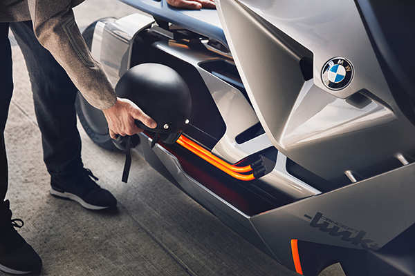 BMW's new concept scooter is straight out of the future