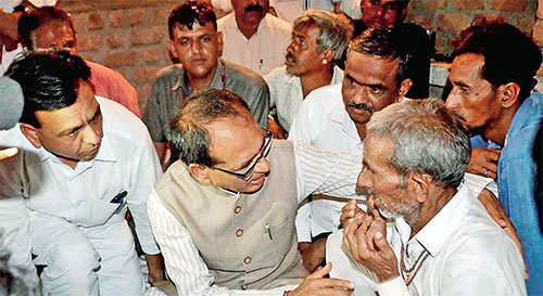 Congress did their best to add fuel to farmers' unrest in Bhopal: Shivraj Chouhan