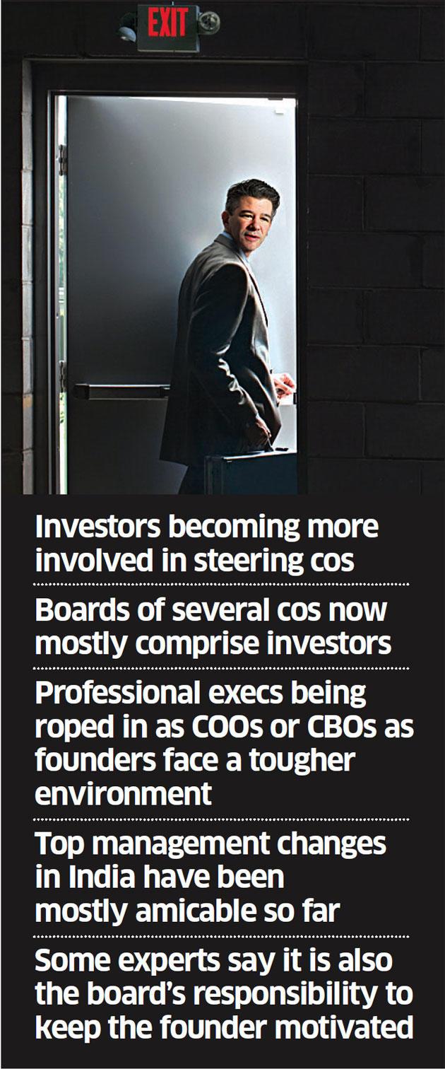 Uber saga shows investors' growing role in startups