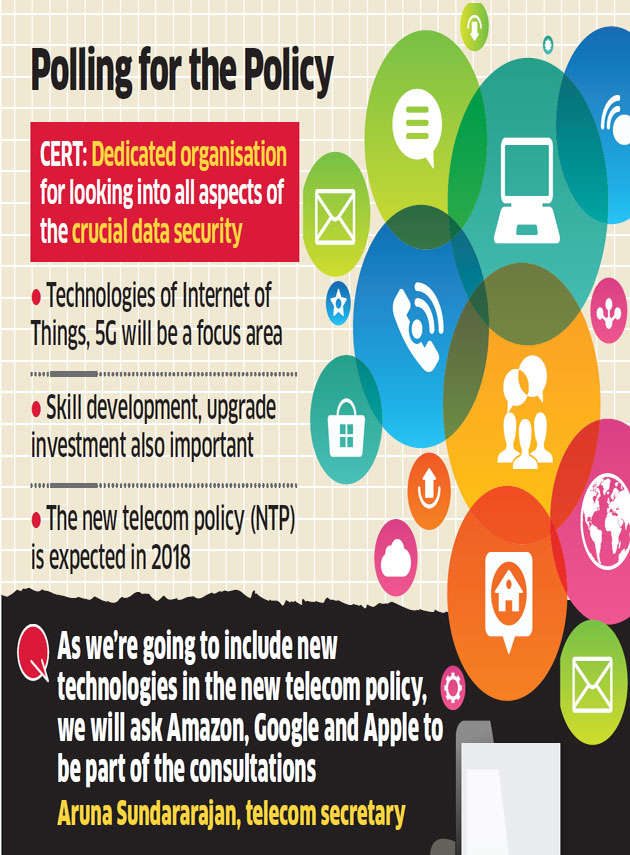 Telecom department to consult Ecomm, tech companies for new policy