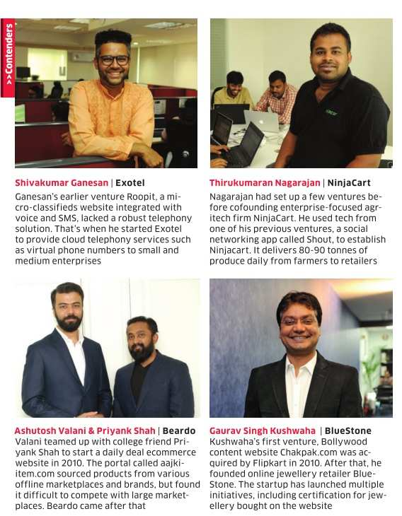 ET Startup Awards 2017: Entrepreneurs who have shown the way to