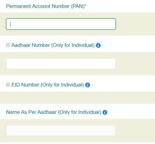 How to get PAN card details corrected