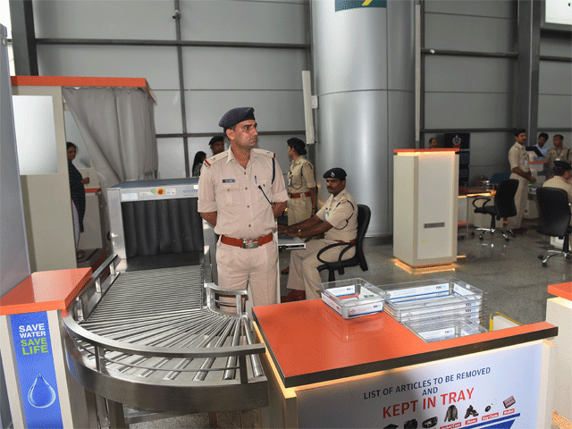 Passengers still think samshabad airport vigilance is so weak or stupid