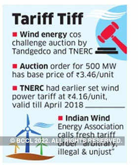 Wind energy companies move Madras High Court against auction of Tamil Nadu projects