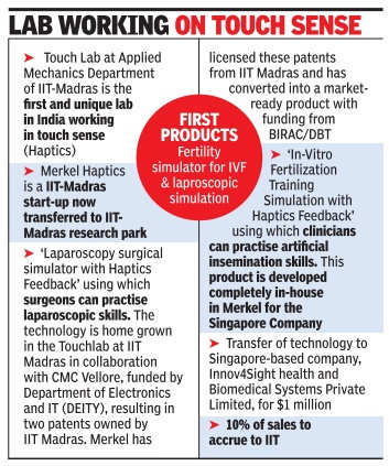 IIT-M startup bags $1 million order from Singapore firm