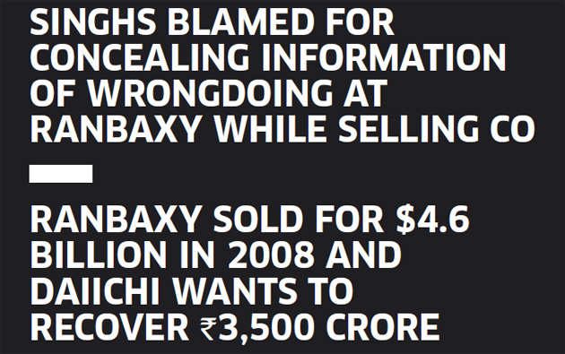Daiichi moves Supreme Court to block Fortis sale