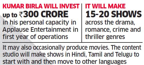 Netflix: KM Birla hires Sameer Nair of Balaji Telefilms