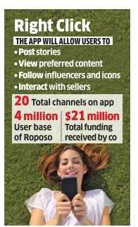 Social site Roposo reboots as a 'TV by the People'