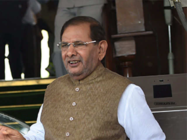 Sharad Yadav holds parallel meeting, exhorts people to keep Grand Alliance thumbnail
