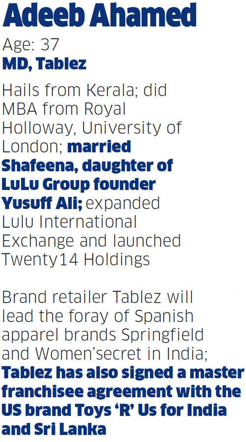 How Adeeb Ahamed of the LuLu Group is foraying further with food, toys and fashion