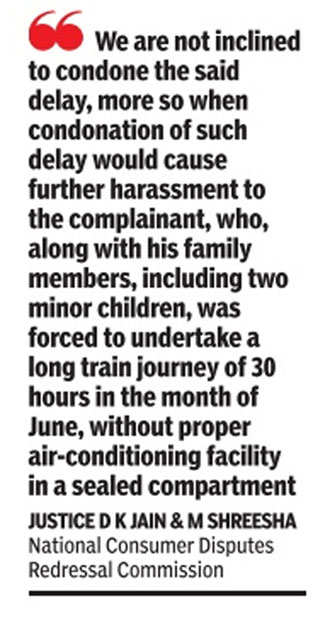 Railways can't get away with poor service