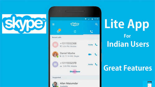 Skype Lite Adds Ability to Send and Receive SMS, Brings SMS Insights