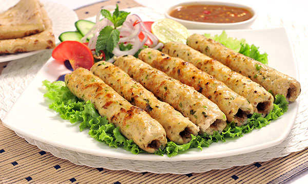 Gear up for Eid-Ul-Adha with this badami murgh seekh kebab recipe