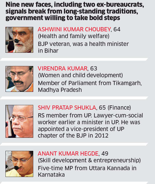 In Cabinet Reshuffle, Narendra Modi Rewards Performers, Demotes Laggards