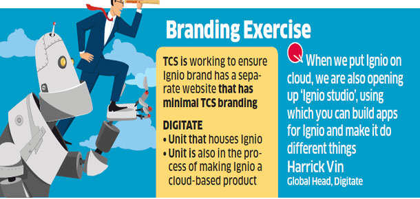 TCS to carve out a new brand identity for its artificial intelligence product Ignio