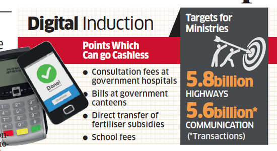 Government explores ways to nudge people towards cashless transactions