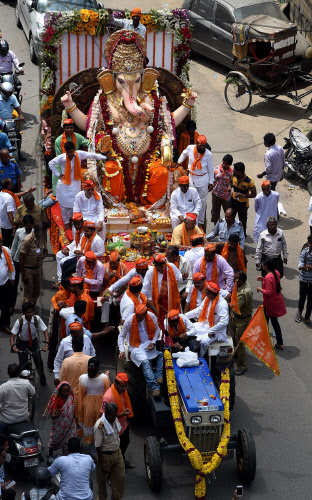 Thousands of Lord Ganesha idols immersed after 12-day celebrations