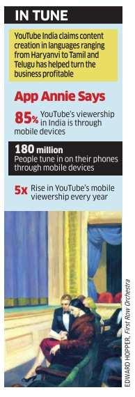 Regional viewership has tripled in last 2 years: YouTube India