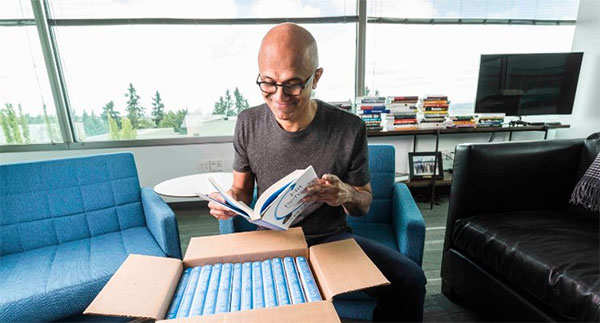 Satya Nadella turns author; talks about AI, learning empathy from wife in new book