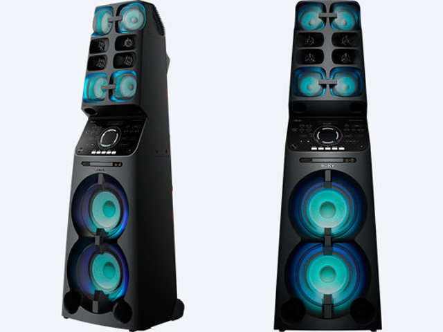 sony tower speakers. sony india launches new tower speaker at rs 65,990 speakers