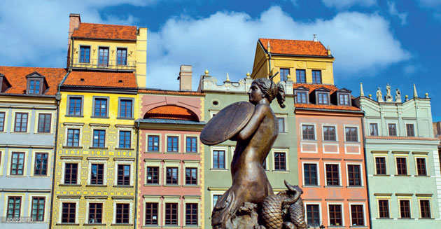 Warsaw: Chopin is everywhere in this phoenix city, his life irrevocably intertwined with its history