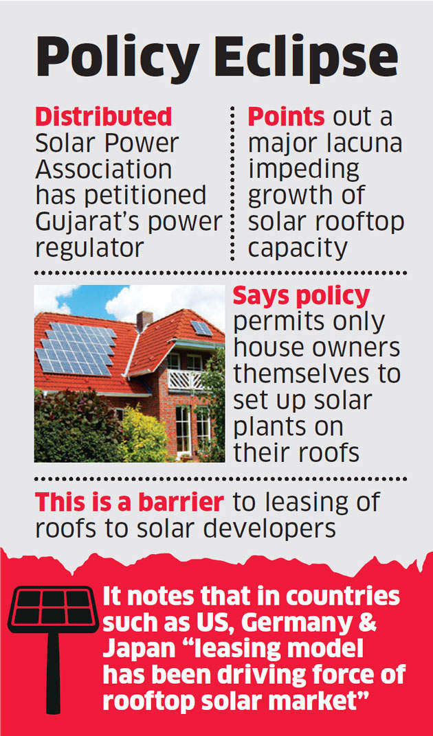 Developers seek change in Gujarat solar policy