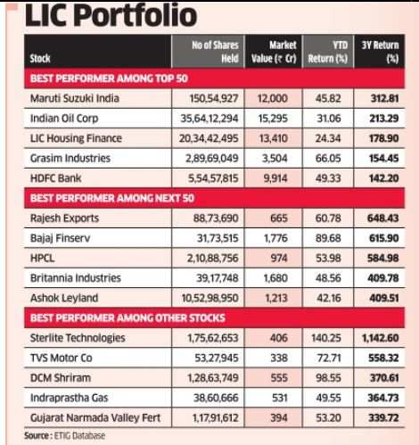 LIC's contrarian bets help it outperform Sensex, BSE 100