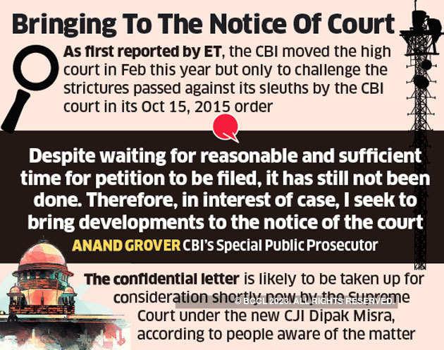 2G spectrum case: Supreme Court may look into CBI prosecutor's confidential letter