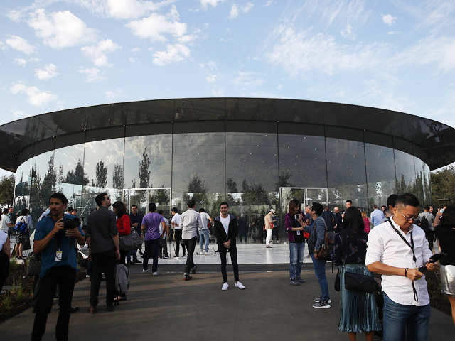 A walk in the 'Park'! Apple's sprawling new spaceship campus in Cupertino