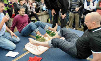From worm charming to toe wrestling, here are some of the most weird world championships