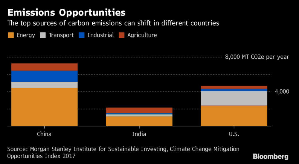 China, India best bets for green investors, says Morgan Stanley
