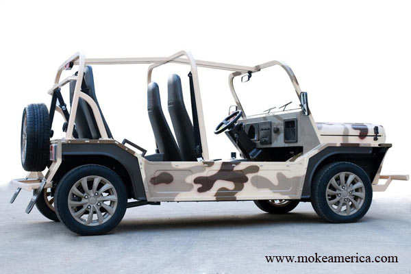 Go green! eMoke is the coolest-looking golf cart you can drive on real roads
