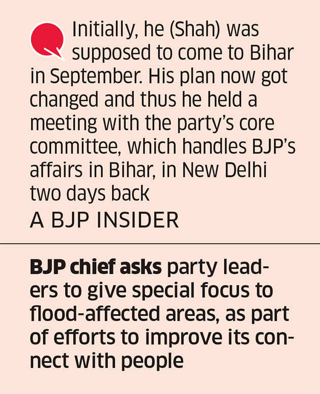Amit Shah wants Bihar BJP to carry on with expansion