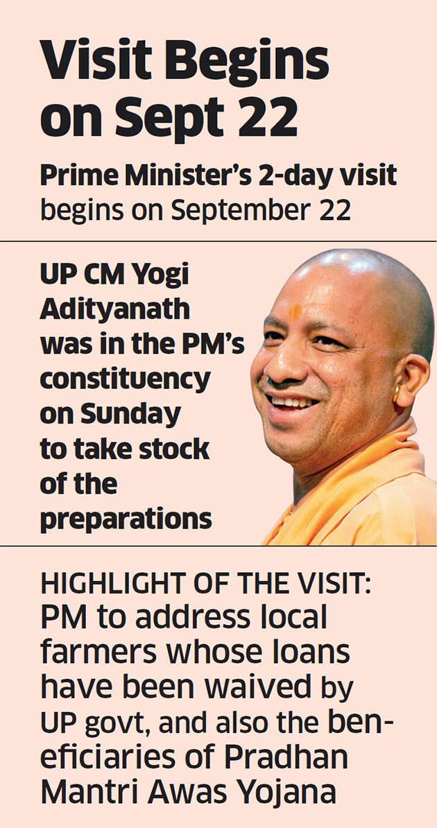 PM Narendra Modi plans to visit Lok Sabha constituency Varanasi this week