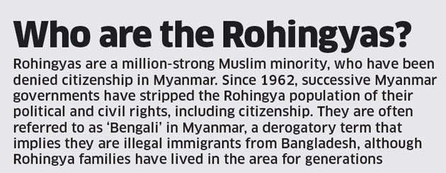 Rohingyas are national security threat: Government in Supreme Court