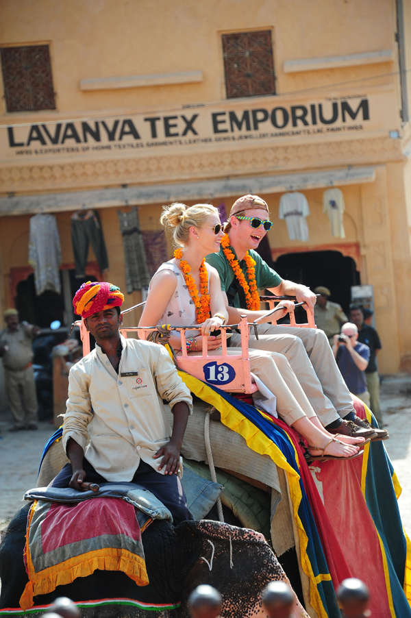 Tweak your to-do list this Navratri! Elephant rides suspended at Amber palace