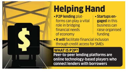 'Peer-to-peer lending platforms are NBFCs'