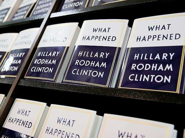 Hillary Clinton's new book sells more than 300000 copies in first week