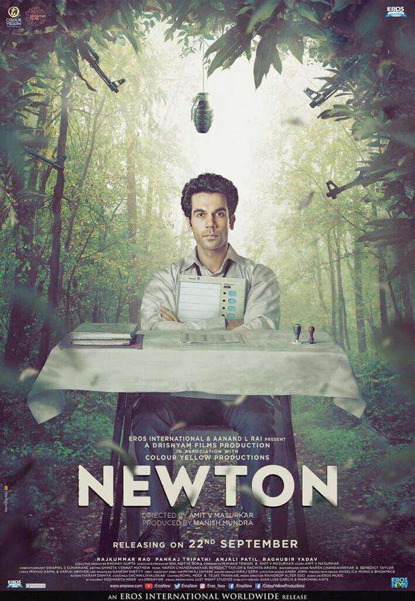 'Newton' is India's official entry for Oscars 2018