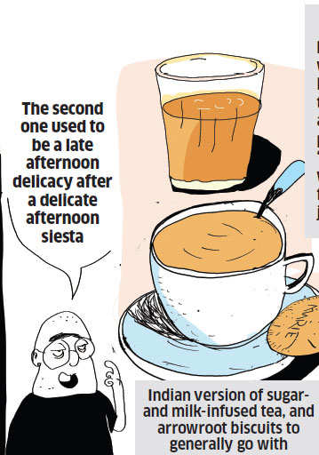 How the origin and evolution of the Indian tea happened