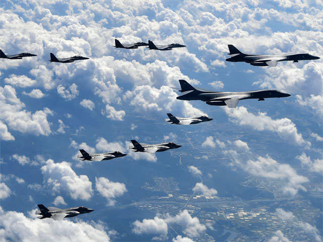 US flies mission north of Demilitarized Zone, sends message to North Korea
