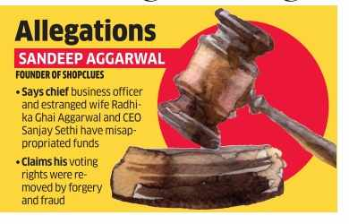Fight gets messy. ShopClues founders trade legal charges