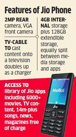 Jio phone offers good value for money: Global brokerages