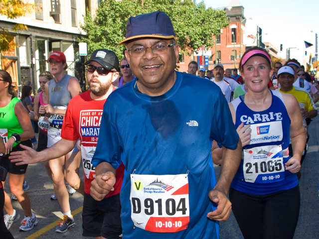 N Chandrasekaran just completed his first 30-kilometre cross-country marathon